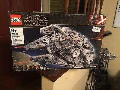 Lego Star Wars Millennium Falcon (75257) Open Box All Bags Sealed MIB