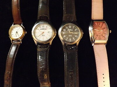 Timex, Activa, Remington, ladies  Watches. the Timex are 'unisex watches.