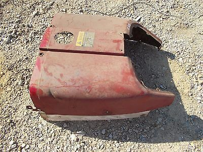 Farmall 504 Utility Tractor Original Ih Front Hood Cover Panel Over Tank Side