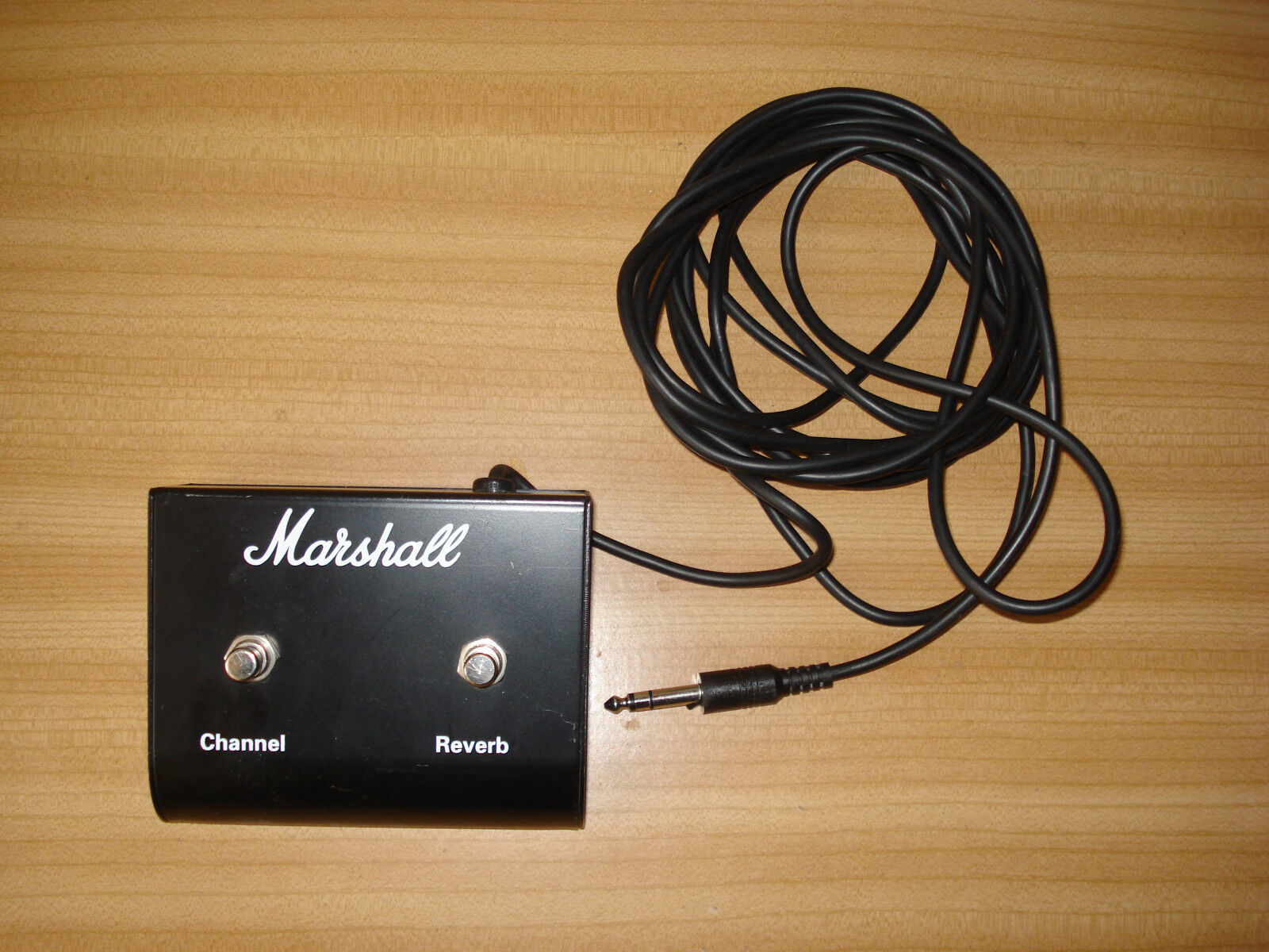 Marshall foot pedal fusspedal channel reverb