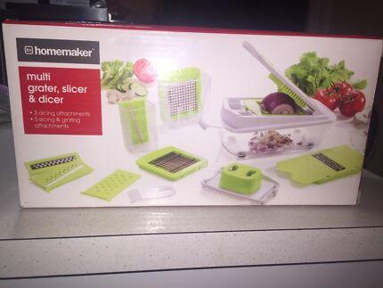 Homemaker multi grater, slicer & dicer