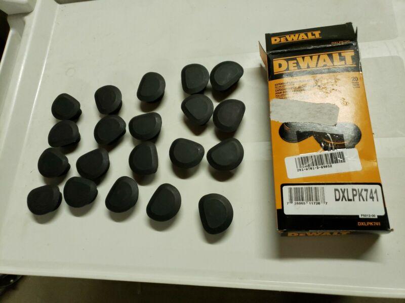 DEWALT DXLPK741 Plastic Caps,Plastic,PK20