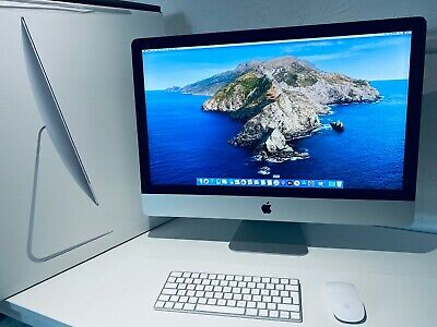 "Apple iMac 27"" 5K Retina 2015 Intel Core i7 4.0Ghz Quad Core 32GB 2TB Fusion HD"