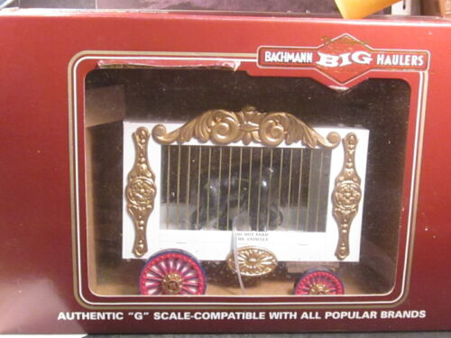 Bachmann Big Haulers #92704  G Scale CIRCUS CAGE WAGON WITH GORILLA w/ Box
