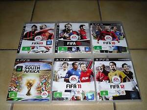 Playstation 3 PS3 Games x 6 Lot (Fifa) Parkwood Canning Area Preview