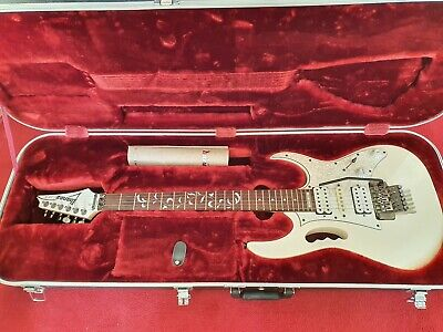 Ibanez JEM 555 Steve Vai signature electric guitar white