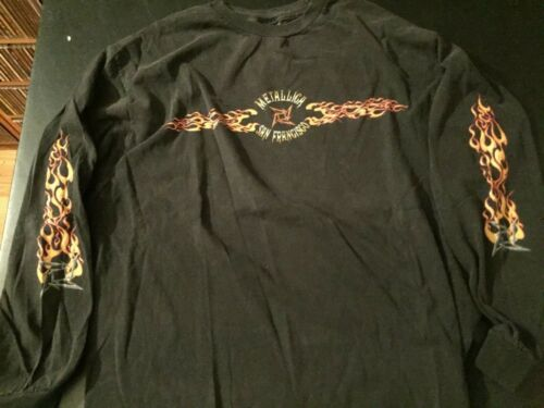 Metallica Long Sleeved Shirt, XL, Vintage, Good Condition!