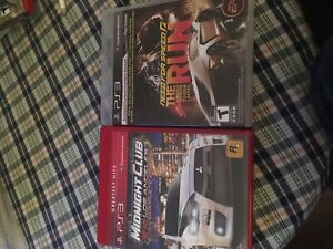 Midnight club and need for speed the run