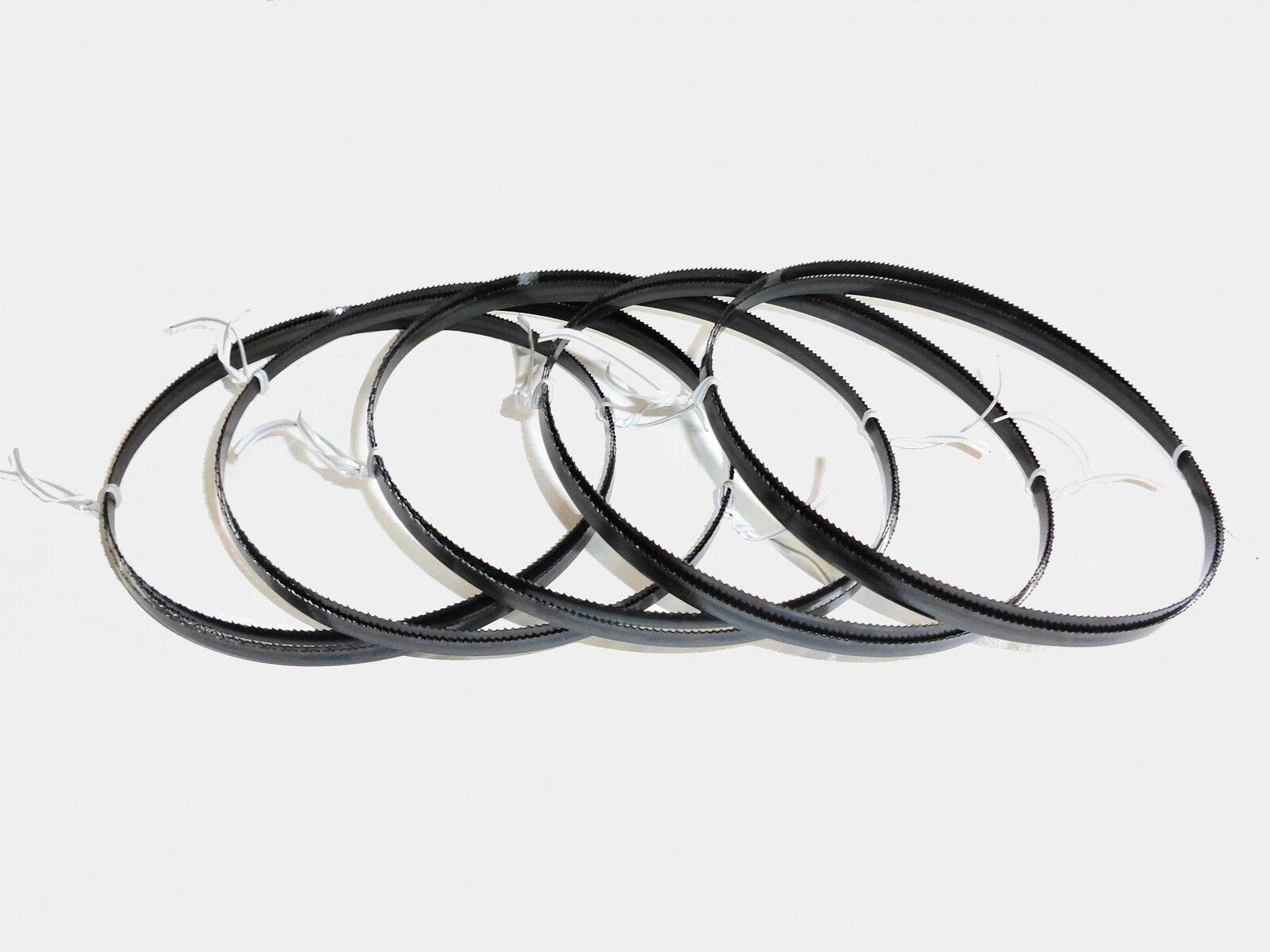 5 X Sägebänder Sägeband 1425 X 6 X 0,36 Mm 14 Zpz Metall Interkrenn Rexon Güde