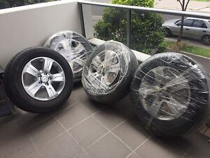 RIMS&TIRES 235/65 R17  HANKOOK SUITS HOLDEN CAPTIVA Rhodes Canada Bay Area Preview