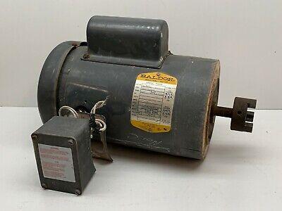 Baldor Vl3510 Industrial Motor 1hp 115230v 1725rpm