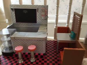 """Our generation 18"""" doll retro diner"""
