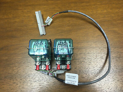 Asco 7000 Series Transfer Switch Power Relays Utility Generator Available