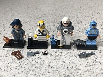 LEGO Collectible Minifigures: Tina Goldstein, Sushi Chef, Jor-el, Zodiac Master