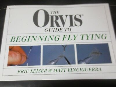Orvis Guide to beginning Fly Tying instruction-book  ()