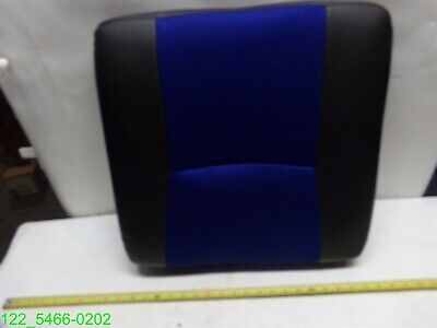19 Wide X 20 Deep Replacement Office Chair Seat Cushion Blueblack
