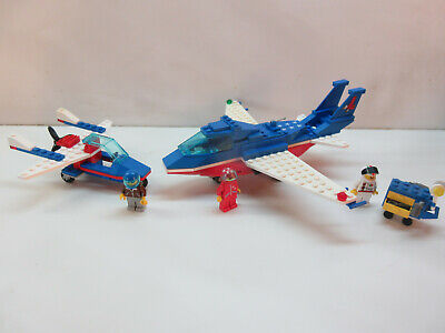 Lego Vintage Classic Town:Airport #6331 & #6536-100%/figs-no manuals (1993-6)