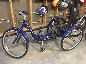 Schwinn 3 wheeled bike with basket