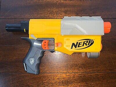 NERF N-Strike Yellow Recon CS-6 Blaster Gun No Clip/Darts/Attachments