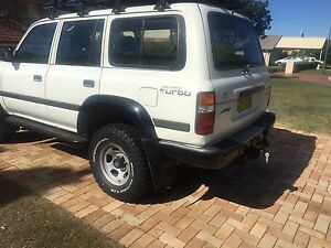 Toyota landcruiser 80 series 1HDT wrecking Mansfield Brisbane South East Preview