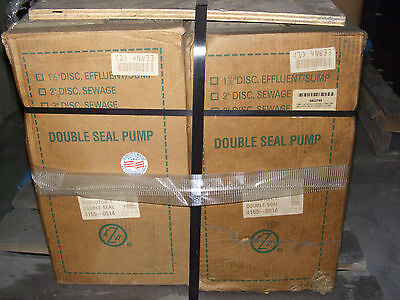 New Zoeller Double Seal Pump 1hp 460v 3 Phase 3.7 Amp 4165-0014