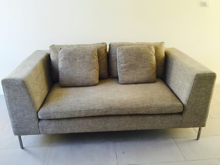 As New 2 Seater Sofa. Warwick Fabric. Designer: Lounge Innovation Curl Curl Manly Area Preview