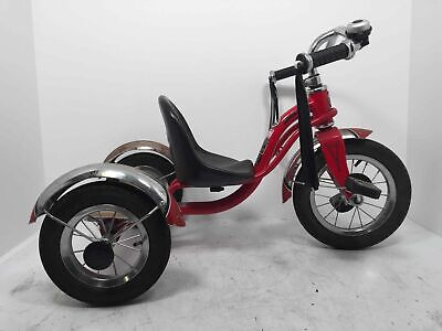 Schwinn Roadster Red Tricycle w/ Classic Bicycle Bell & Handlebar Tassels Retro (Used - 74.99 USD)
