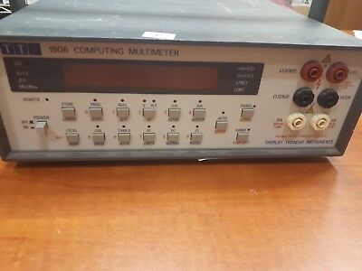 Tti Thurlby Thandar 1906 Computing Multimeter
