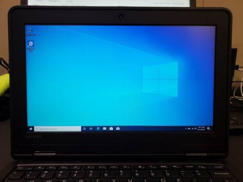 Laptop Windows - Lenovo 11e Intel Celeron N3160, 4GB RAM, 128GB SSD, Windows 10 Pro #353