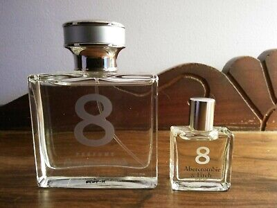 NWOB Abercrombie 8 Perfume - 1.7 Fl.Oz. + Travel Size