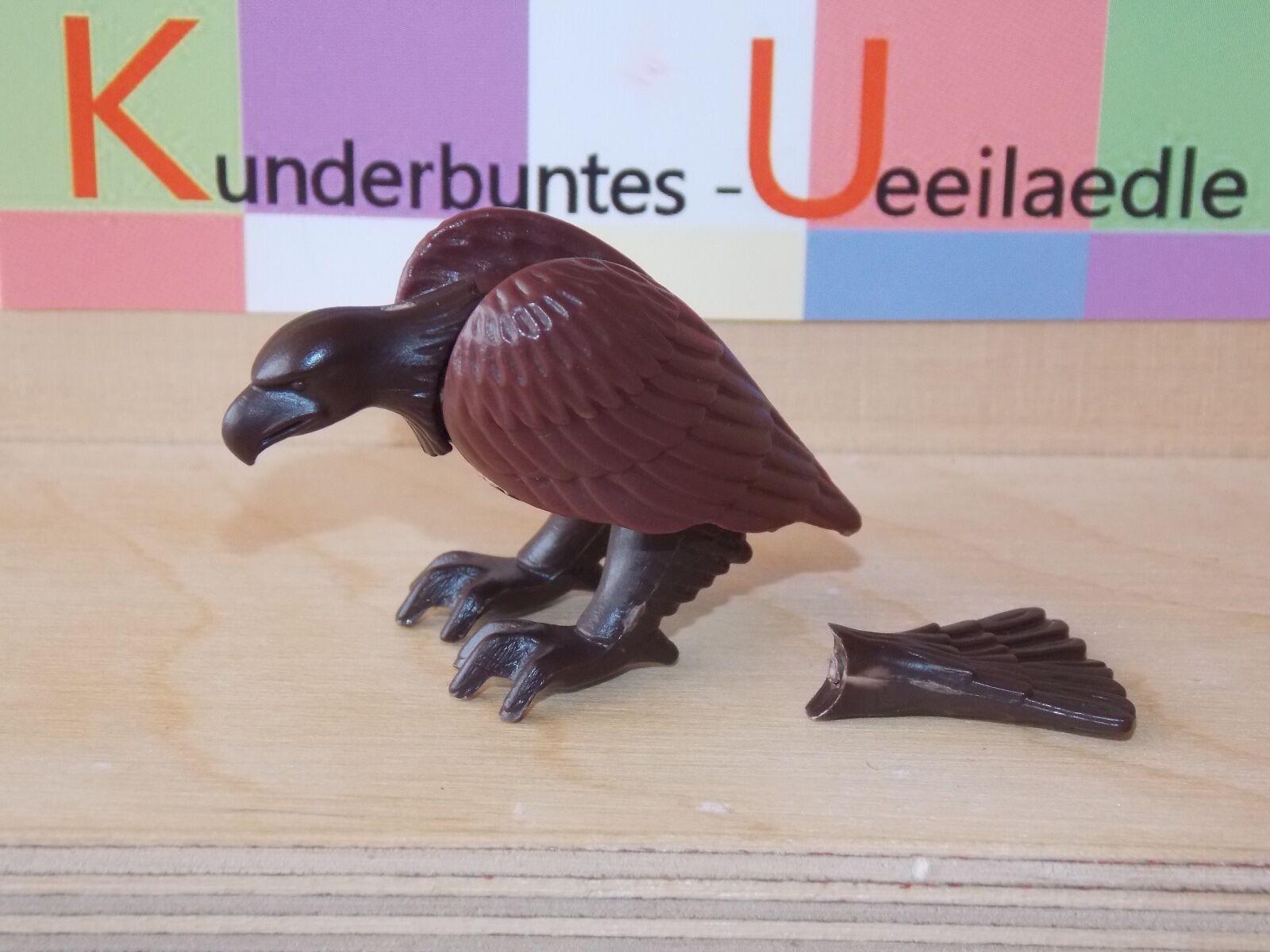 Tiere Nordamerikas  D 1991  Adler sitzend dunkelbraune Flügel