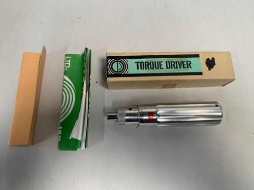 TOHNICHi 26LTDH Torque Driver Tool Made In Japan Gently Used (A20)