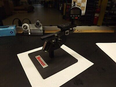 Starrett No. 1130 Thread Gage Test Plate Stand Good Conditions