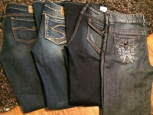Silver & Guess boot cut jeans