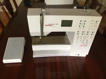 Bernina sewing machine sewing machines gumtree australia free bernina virtuosa 153 qe sewing machine quilters edition fandeluxe Images