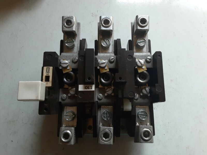 Cutler-Hammer Model: C300EN3 Series A2 Type ST 100 Amp Overload Relay