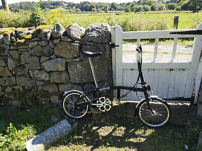 M6L Brompton 6-Gear Folding Bike, serviced and ready to ride