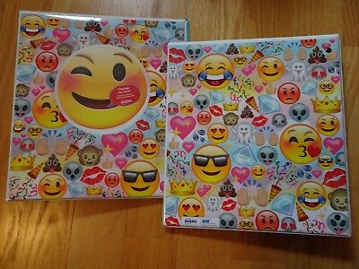 Emoji Binders Peekaview By Avery One Inch 1 Size Three Ring Two Count New