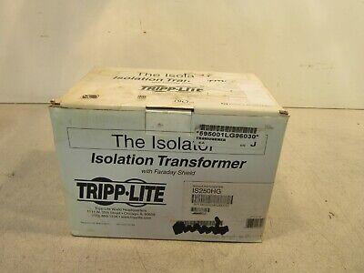 Tripplite Isolation Transformer Is250hg Max Total Output 120 V 250w 60hz