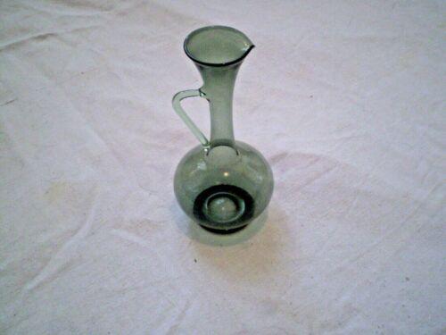 Rare Beautful Handmade Pitcher  jug  Glass