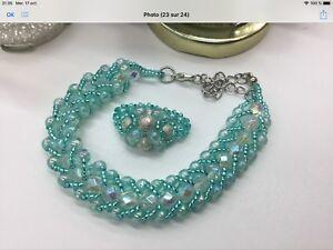 Bijoux perler à la main et artisanat amérindien