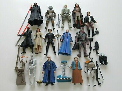 14 Star Wars 1995 potf Power Of The Force Action Figures lot loose Han Solo