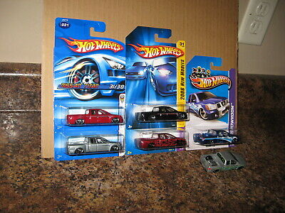Hot Wheels Lot of 6 2006 Nissan Titan Extended Cab Pickup Truck  Variation '06
