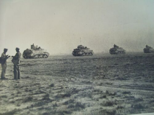 WWII BRITISH OFFICIAL PHOTOS ENEMY ROUT CONTINUES IN WEST DESERT