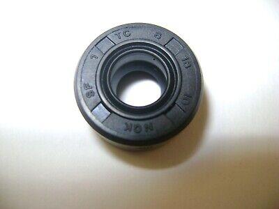NEW TC 8X18X10 DOUBLE LIPS METRIC OIL / DUST SEAL 8mm X 18mm X 10mm