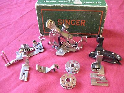 Singer Featherweight 221 sewing machine Attachments