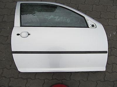 Tür vorne rechts VW Golf IV 1.6 Benzin 2türig Modell 1999 Lack: LB7Z SatinSilber ()