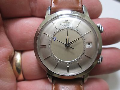 Rare Vintage JAEGER LECOULTRE Memovox Automatic Alarm Watch Cal. 825 Mens 37mm