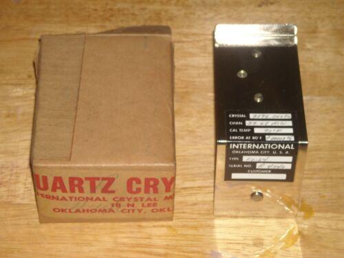 vintage international quartz crystal oscillator F 0.54 pre owned  #1
