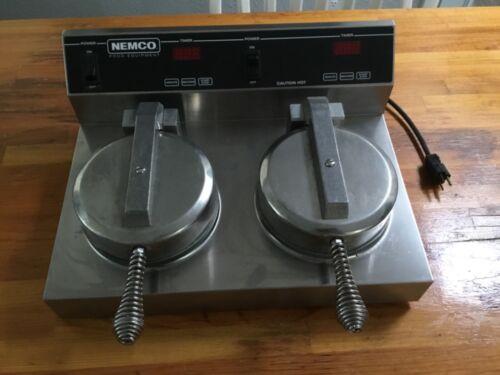 NEMCO COMMERCIAL WAFFLE MAKER 7000-2S240